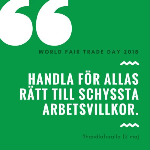 world fair trade day
